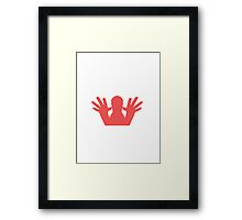 forget about it! Framed Print
