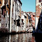 ONE OF MANY - A CANAL IN VENICE........! by Roy  Massicks