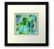 Crystal Garden Framed Print