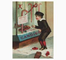 Wanted - A Boy To Lick Christmas Candy Cane Kids Clothes