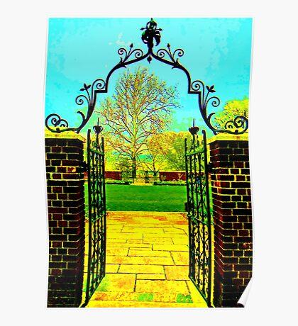 Garden Gates Poster