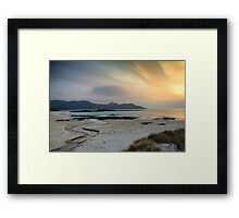 Sanna Bay Framed Print