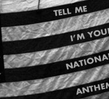 Lana Del Rey National Anthem Sticker