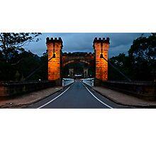 Historic Hampton Bridge. Photographic Print