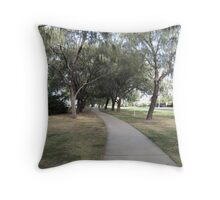 Clifftop Walk from Elliott Heads to Coral Bay, Queensland East Coast. Throw Pillow