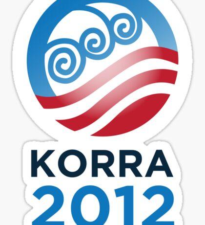Korra 2012 Sticker