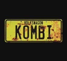 Volkswagen Kombi -  License Plate by blulime