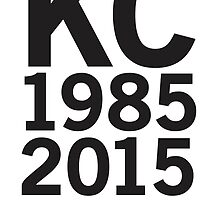 KC Royals 2015 Champions LARGE BLACK FONT by johnnabrynn