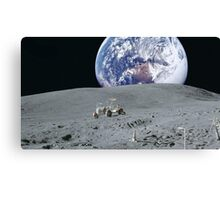 The Moon Buggy Canvas Print