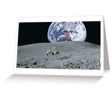 The Moon Buggy Greeting Card