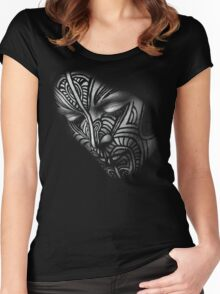 Fever Ray Mask Women's Fitted Scoop T-Shirt