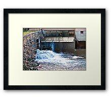 like hdr waterworks Framed Print