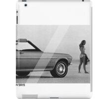 OVERFIFTEEN SUNSET SPORTS CAR (VINTAGE) iPad Case/Skin