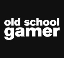Old School Gamer Baby Tee
