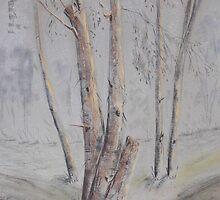 Narrabri Tree Scene by © Jennifer Korteland