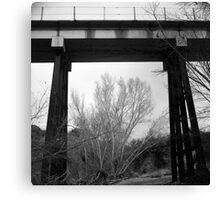 Bridge Frame Canvas Print