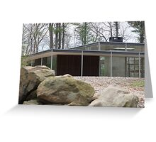 Mid Century Modern -Lee House 2 Greeting Card