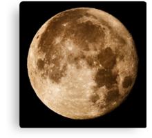 Hawaii's Super Moon Canvas Print