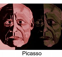 Picasso Now and Then by markmoore