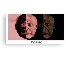 Picasso Now and Then Canvas Print