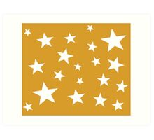 Star Spangled Gold Art Print