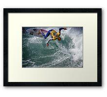 Rip Curl Pro 2012 - Bells Beach - 1 - Kai Otton Framed Print