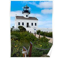 Old Point Loma Lighthouse, San Diego, CA Poster