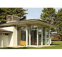 Mid Century Modern - Irwin Pool House Photographic Print