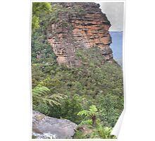 Blue Mountains Escarpment, Leura, NSW Poster