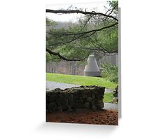 Library / Study, Philip Johnson Greeting Card