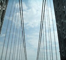 George Washington Bridge Arch by Jane McDougall