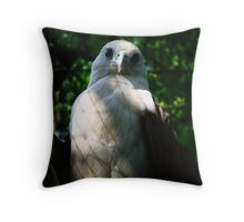 Philippine Eagle Throw Pillow