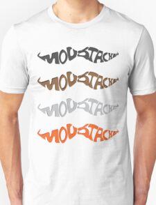 Moustache Text art T-Shirt
