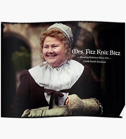Mrs. Fitz Knit Bitz Poster