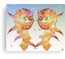 Fish Goblins Canvas Print