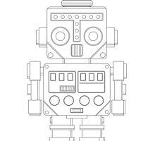 Retro Robot by ObscureM