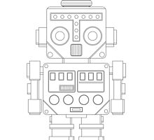 Retro Robot by ObscureM