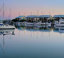 Dawn over Raby Bay - Qld Australia by Beth  Wode