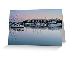 Dawn over Raby Bay - Qld Australia Greeting Card