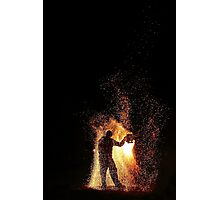 Fire Show Medieval Camp Aarschot 2011 Photographic Print