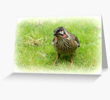 A little bird told me...... Greeting Card