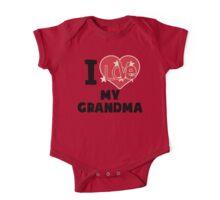 I Love My Grandma One Piece - Short Sleeve