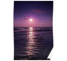 Sunset Calm Poster