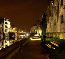 Nightlife in Gent (Belgium) by fotodelmar
