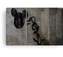 Disneyland Paris Street Art Metal Print