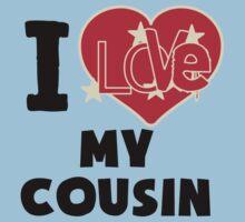 I Love My Cousin Kids Tee