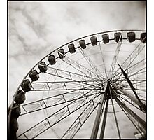 { ferris day out } Photographic Print