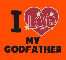 I Love My Godfather Kids Tee