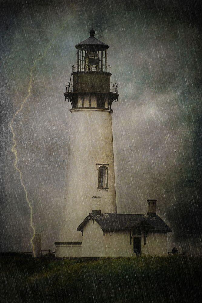 Late Afternoon Storm.... by Carol Knudsen