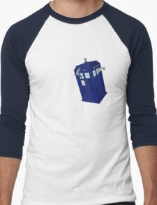 Palkia and Dialga: TARDIS Adventures! Men's Baseball ¾ T-Shirt